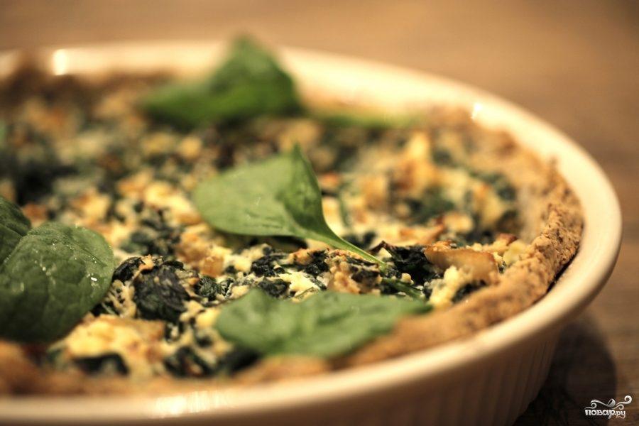 Рецепт Запеканка с рикоттой и шпинатом