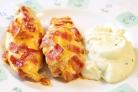 Курица с беконом и сыром