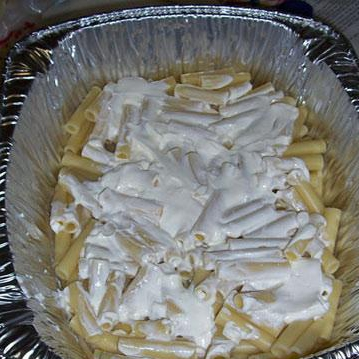 Тройной сырный Зити - фото шаг 10