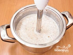Грибной суп-пюре из шампиньонов - фото шаг 6