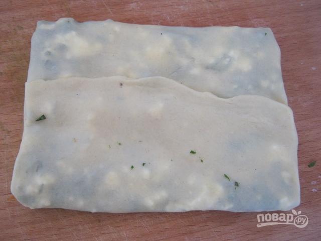 Турецкая лепешка гезлеме - фото шаг 10