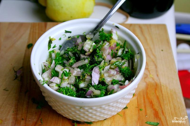 Рецепт Запеченное филе лосося