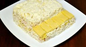 Салат белый рояль пошаговый рецепт с фото