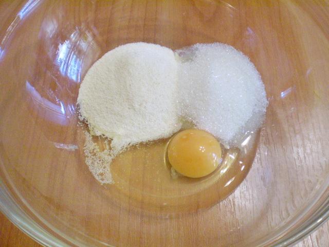 Оладьи из тыквы с манкой - фото шаг 2