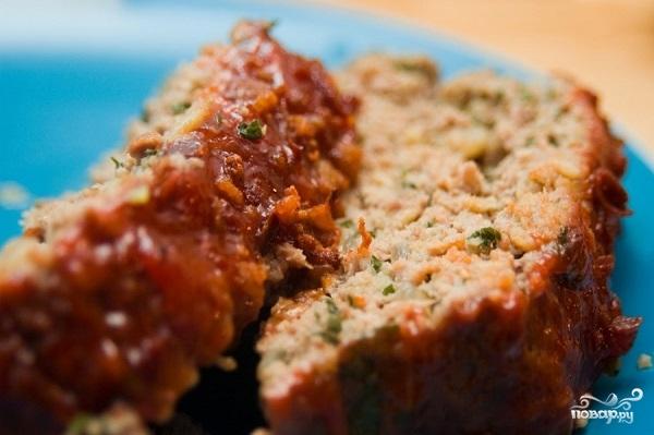 Рецепт Рулет из рубленого мяса