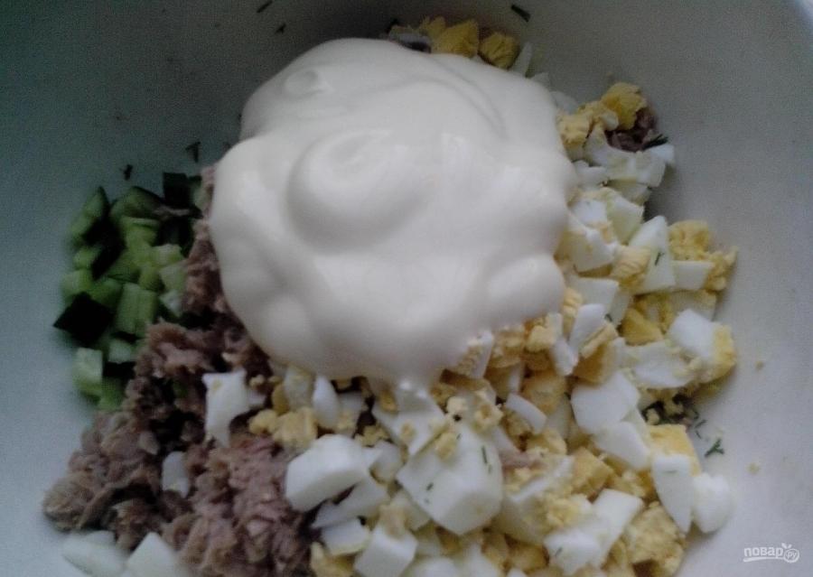 Салат мимоза в тарталетках рецепты 193