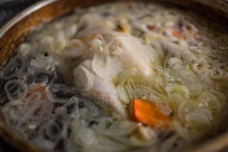 Рецепт Шурпа из петуха