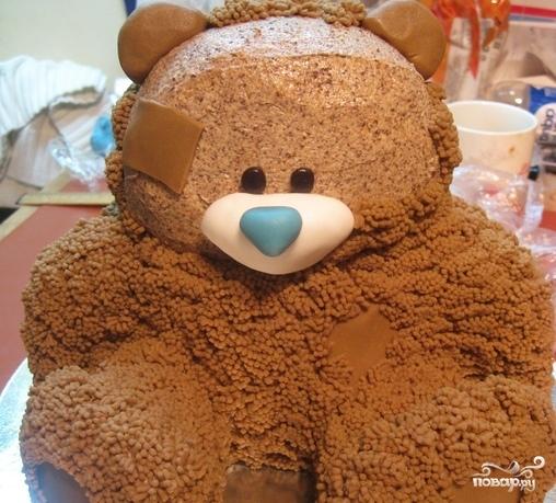 "Торт ""Медвежонок"" - фото шаг 17"