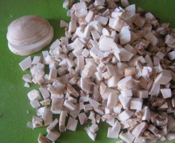 Перец, фаршированный грибами - фото шаг 2