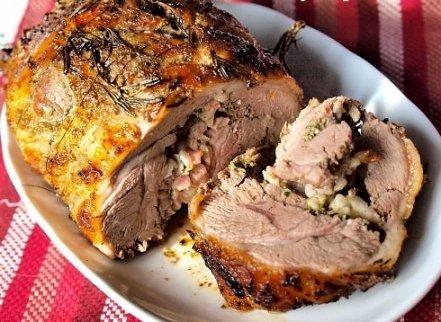 Мясо с розмарином в духовке - фото шаг 6