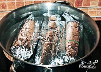 Домашняя вареная колбаса - фото шаг 6