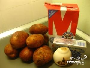 Рецепт Запеченный картофель с молоком