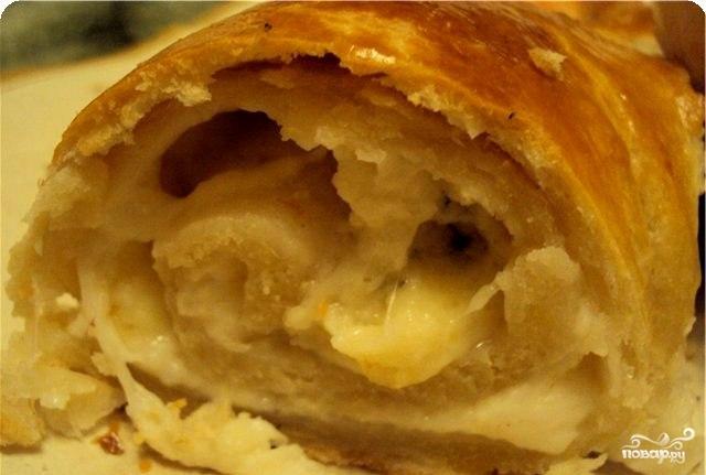 Рецепт Вертута с сыром