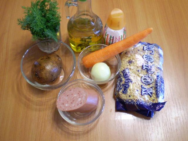 Рецепт Гороховый суп без мяса