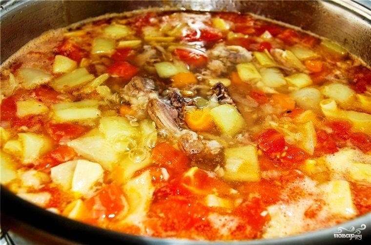 Суп из телячьего хвоста - фото шаг 11