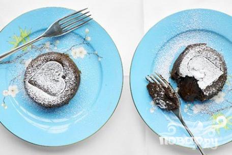 Рецепт Шоколадные пирожные с эспрессо