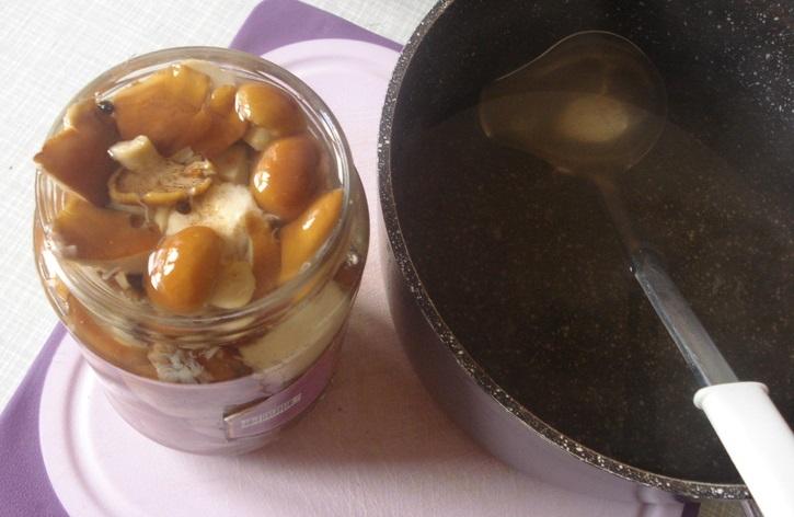 Рецепт Маринованные маслята без уксуса