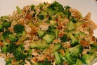 Салат с пеканом и брокколи