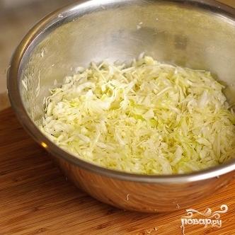Салат из капусты и огурцов - фото шаг 6