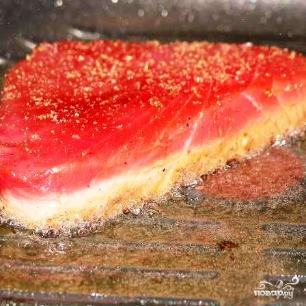 Стейк из красной рыбы - фото шаг 4