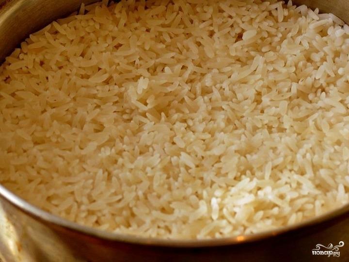 Тыква с рисом и сухофруктами - фото шаг 2