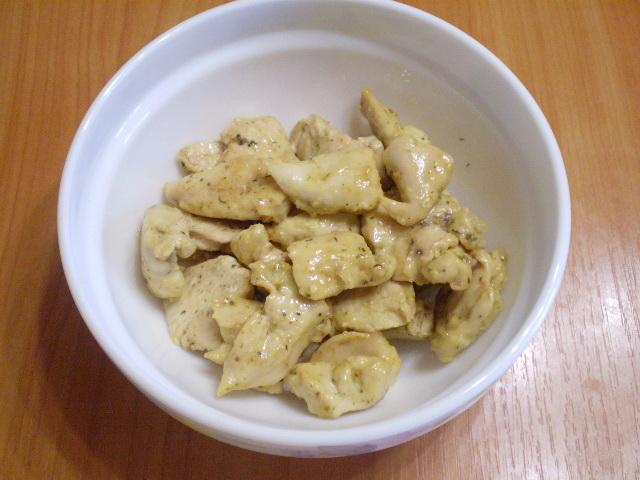Куриное филе в кефире - фото шаг 5