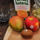 Рецепт Витаминный напиток из киви, апельсина, винограда и манго