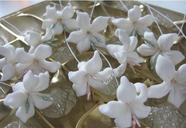 "Торт ""Цветы из мастики"" - фото шаг 5"