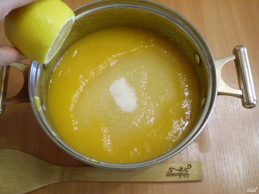 Варенье из тыквы с лимоном на зиму - фото шаг 3