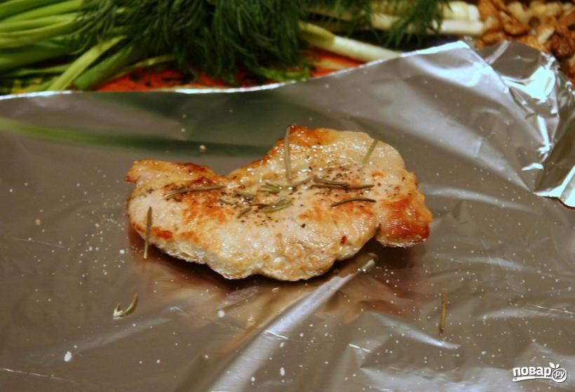свинина запеченная в фольге в духовке рецепты с фото