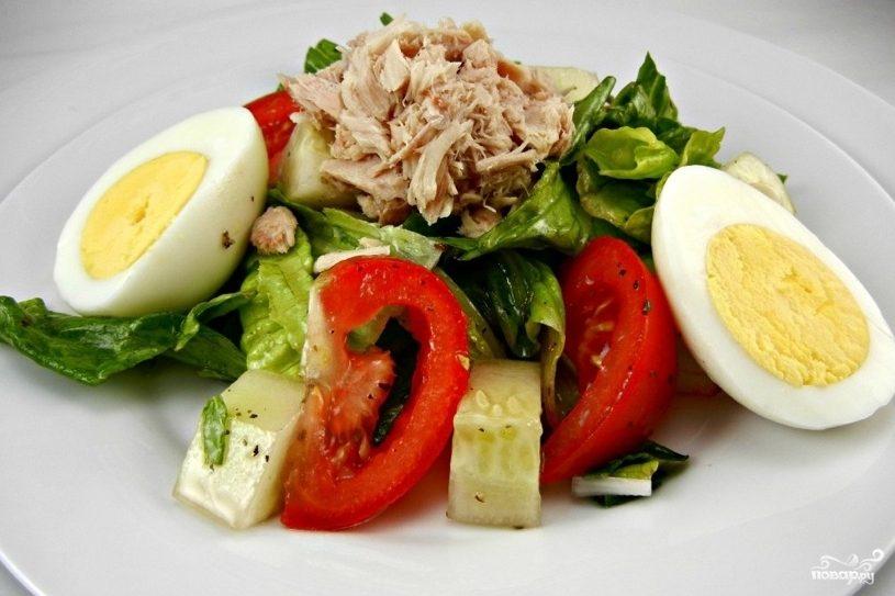 салат с креветками рецепт и айсбергом