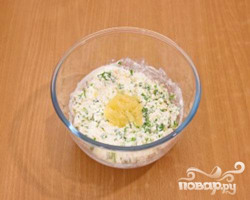 Картофель с творожным кремом - фото шаг 4