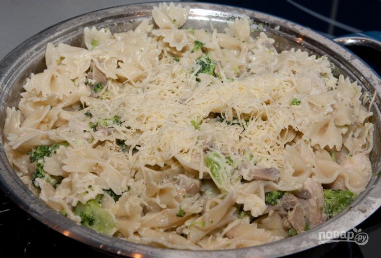 макароны бантики рецепты с курицей