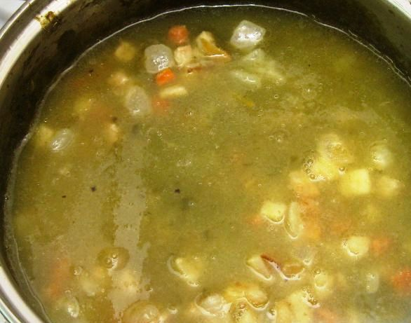 Суп с яйцом и мясом - фото шаг 4