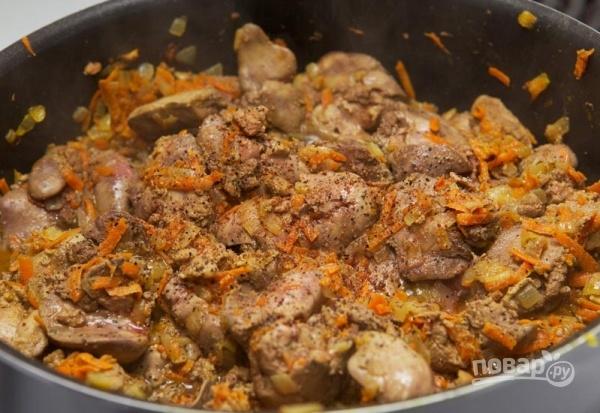 Калорийность печени говяжьей тушеной в сметане