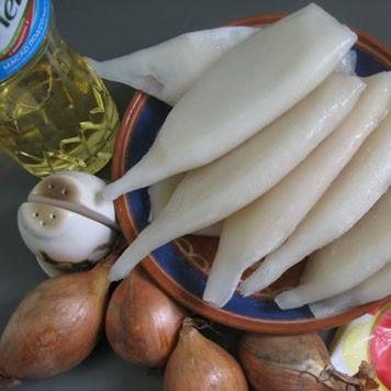 Салат из кальмаров - фото шаг 1