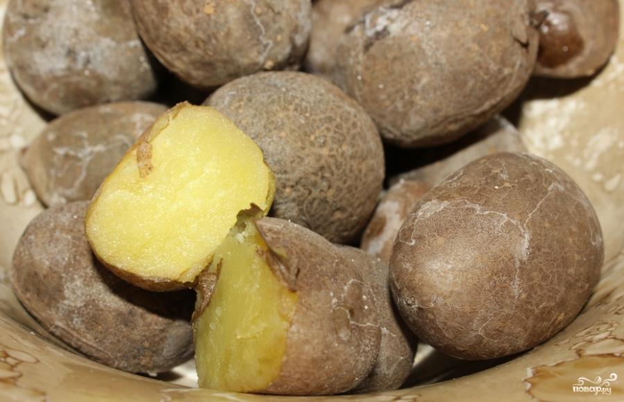 Картошка в мундире - фото шаг 3