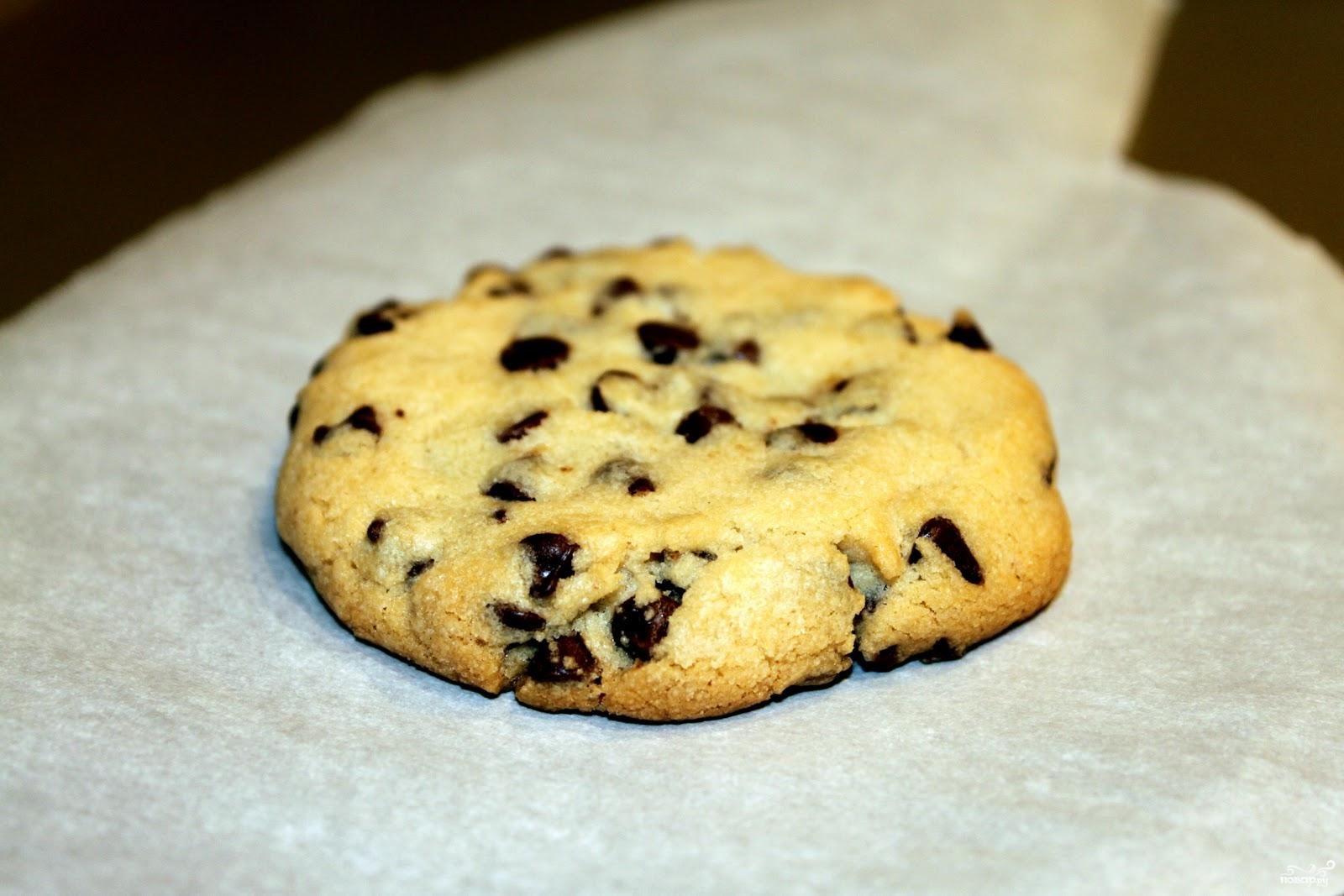Классическое печенье с шоколадом