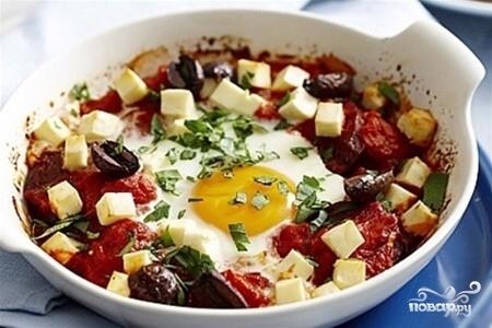 Рецепт Яйца по-испански