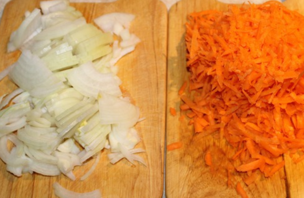 Салат из спаржи с морковью - фото шаг 3