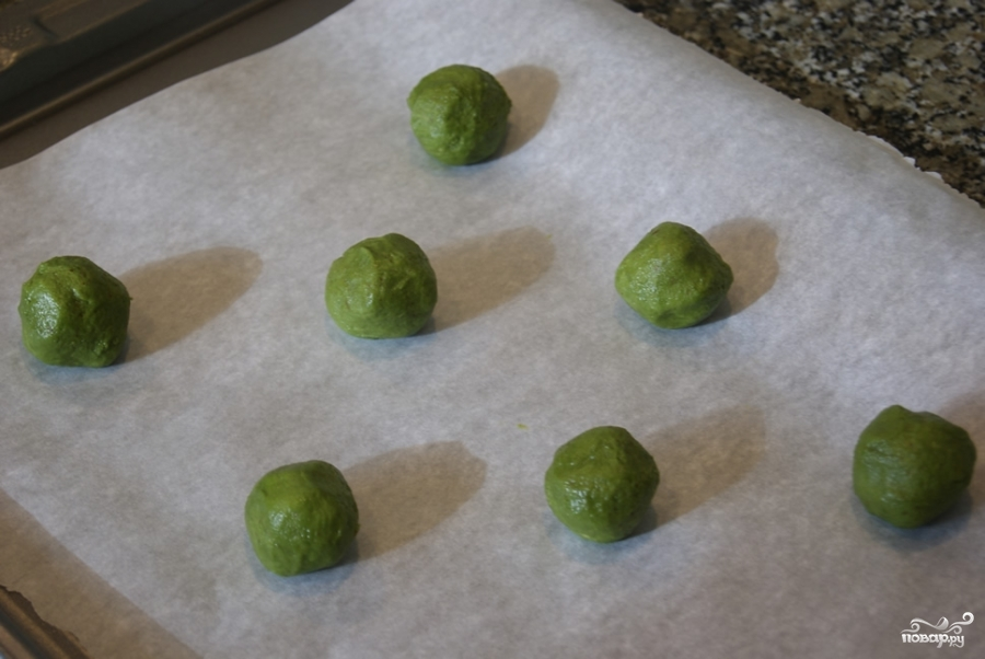 Печенье с зеленым чаем - фото шаг 9