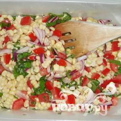 Рецепт Летний кукурузный салат