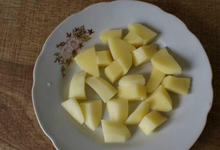 Крем-суп из индейки - фото шаг 2