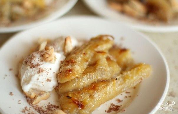 Десерт из запеченных бананов - фото шаг 4