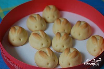 Рецепт Пасхальные хлебцы Зайки