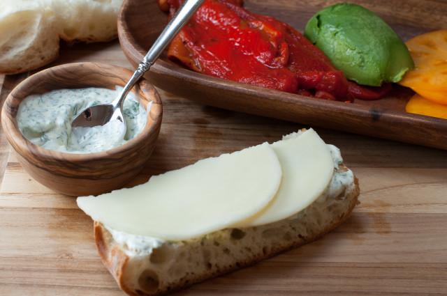 Сэндвичи с болгарским перцем - фото шаг 4