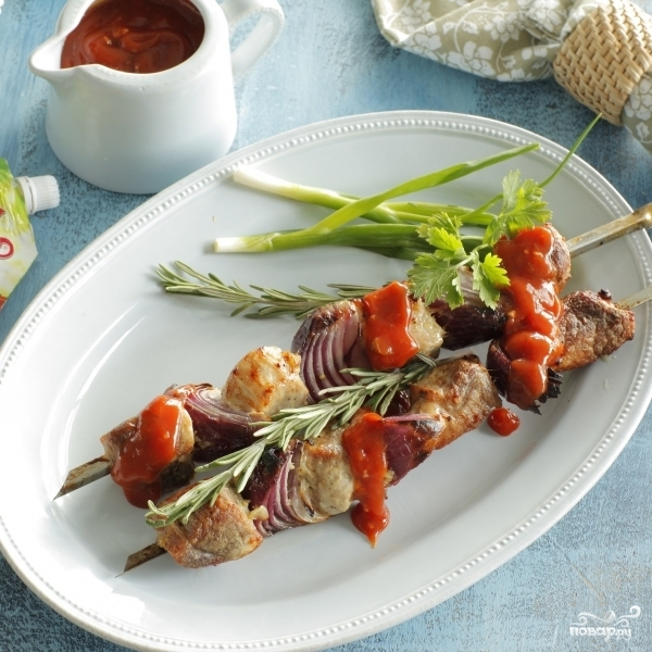 рецепт шашлыка из свинины на кефире с фото #8