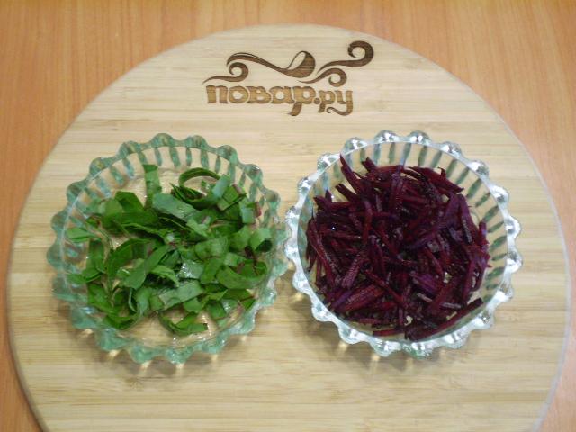 Сыроедческий салат из свеклы - фото шаг 5