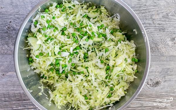 салаты из зеленого горошка самые вкусные рецепты