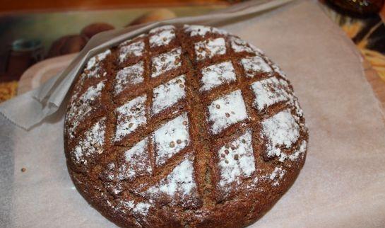 Ржаной хлеб без дрожжей - фото шаг 3